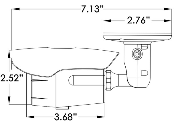 DH IBF 680W Dimension