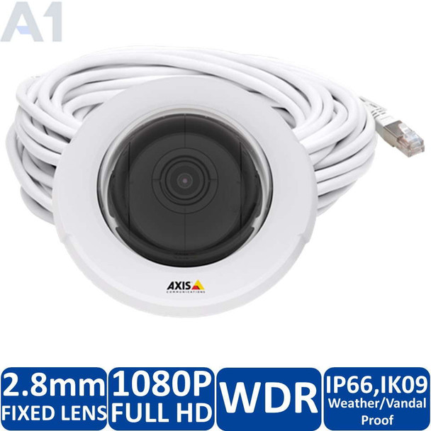 Axis F4005-E IP Dome Security Camera
