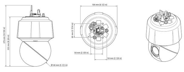 Axis Q6128-E PTZ 4K Dome Network Camera