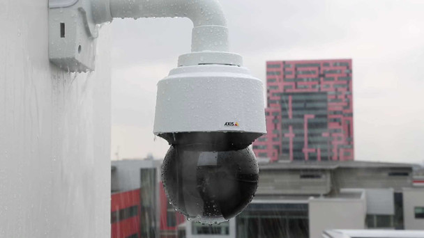 AXIS Q6128-E 8.3MP 4K PTZ IP Security Camera with Sharpdome, 3.9~46.8mm Motorized Lens - 0799-004