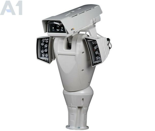Axis Q8665-LE 24vac PTZ IP Security Camera 0718-001 - 4.7~84.6mm, Day/Night, WDR, Pan 360-degree, Wiper, Arctic Camera