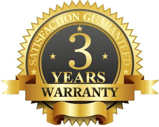 3 Years Limited Manufacturer Warranty