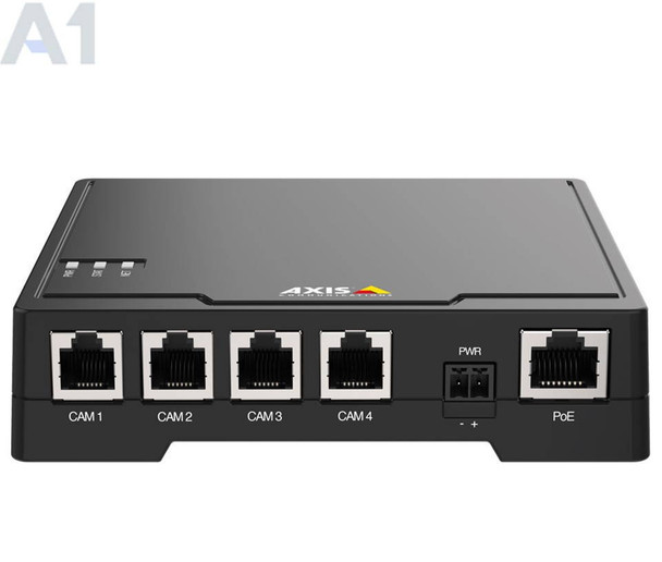 AXIS F34 Main Unit Multi-view Surveillance - Streams 1080p/720p, Quad View Streaming, Zipstream Technology, 2-SD Card Slots