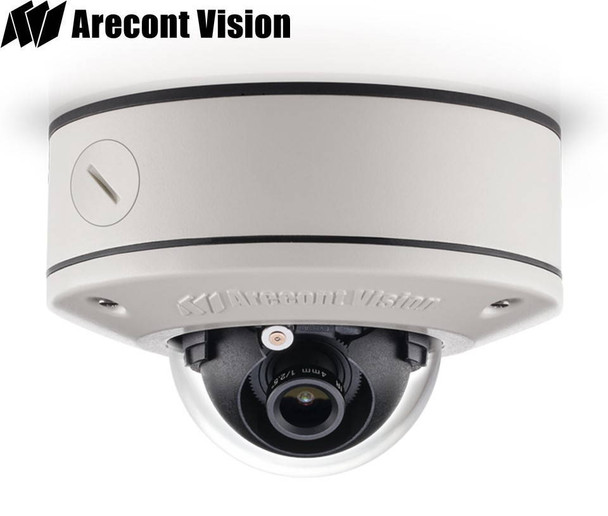 Arecont Vision AV1555DN-S Outdoor Dome IP Security Camera - 1.2MP, 2.8mm Lens, Day/Night, Weatherproof