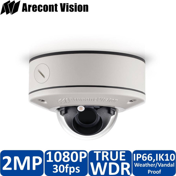 Arecont Vision AV2556DN-S-NL 2MP Dome IP Security Camera - No Lens included