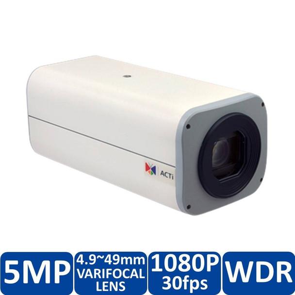 ACTi B22 IP Box Security Camera