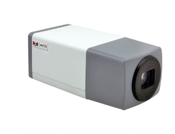 ACTi E213 IP Box Security Camera - 5MP, Day/Night, WDR, 10x Optical Zoom, SD Card Slot