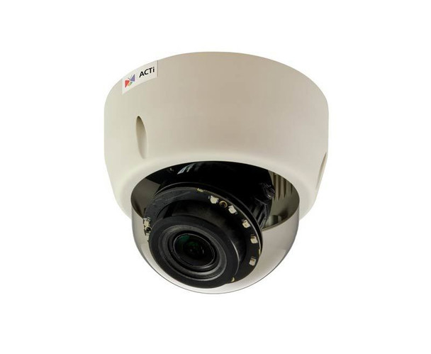 ACTi E610 Indoor Dome Security Camera - 10MP, 4K Resolution, Day/Night, Basic WDR, SD Card Slot