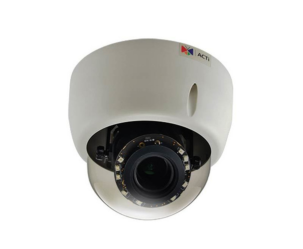 ACTi E617 Indoor Dome Security Camera - 10MP, 4K Resolution, Day/Night, Basic WDR, SD Card Slot