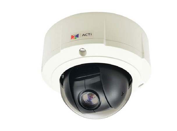ACTi B910 Outdoor PTZ IP Security Camera - 4MP, Day/Night, 10x Zoom, Basic WDR, SD Card Slot