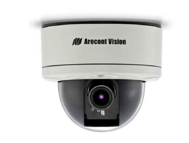 Arecont Vision D4SO-AV2115DNv1-3312 D4 Series Outdoor Dome IP Security Camera - 2MP, 3.3~12mm Lens, 1920 x 1080 @ 31fps, Day/Night