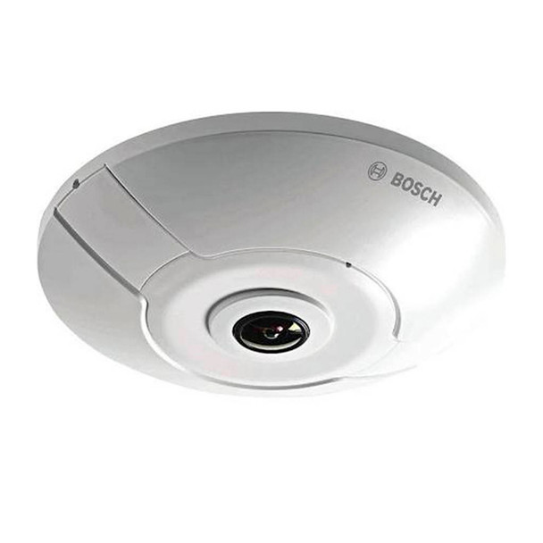 Bosch NUC-52051-F0E FLEXIDOME IP panoramic 5000 MP 5MP Outdoor IP Security Camera - 1.19mm Fixed Lens, WDR, 360-degree Lens, Microphone