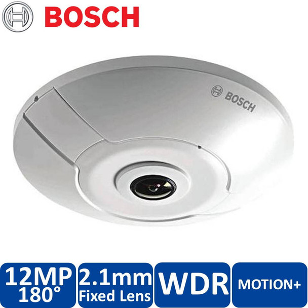Bosch NIN-70122-F1 4K Panoramic Dome IP Security Camera - 12MP, MOTION+