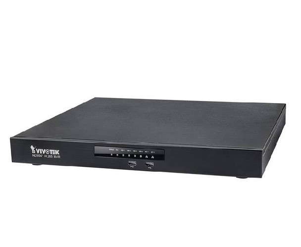 Vivotek ND9541 32 Channel H.265 Network Video Recorder - Realtime 1080p Full HD