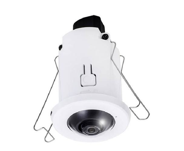 "Vivotek FE8182 5MP Indoor Fisheye IP Security Camera - 1/3.2"" CMOS, 1.05mm Lens, WDR, Day/Night, Built-in Microphone"