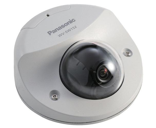 Panasonic WV-SW152M i-Pro 1.3MP Dome IP Security Camera - H.264 SVGA Vandal Resistant