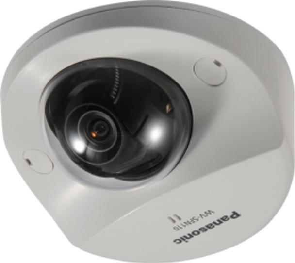 Panasonic WV-SFN110 Super Dynamic Dome IP Security Camera - 2.8mm Lens, 720p Full HD, Day/Night, WDR
