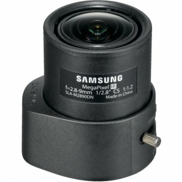 Samsung SLA-M2890DN CS-Mount 2.8-9mm Varifocal Lens (P-Iris)