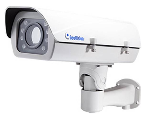 Geovision GV-LPR1200 1MP License Plate Recognition (LPR) Bullet IP Security Camera - Max. 124.27mph