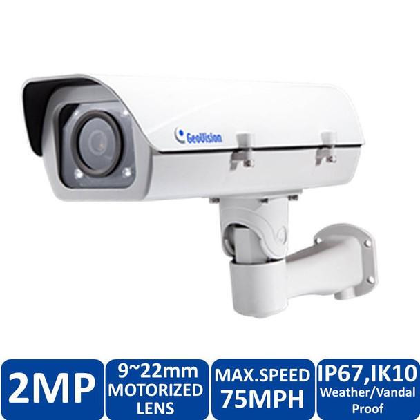 Geovision GV-LPC2210 2MP License Plate