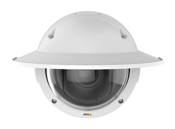 AXIS Q3615-VE 2MP Outdoor Dome IP Security Camera - 4.1~9mm Varifocal Lens, 60fps at 1080P