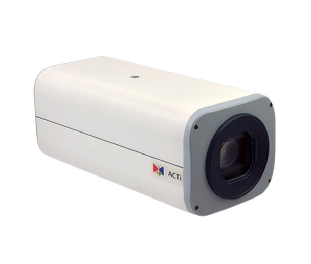 """ACTi B214 2MP Indoor/Outdoor Box IP Security Camera - 4.7~94mm Motorized Lens, 1/2.8"""" CMOS, 20x Optical Zoom, Extreme WDR (145 dB)"""