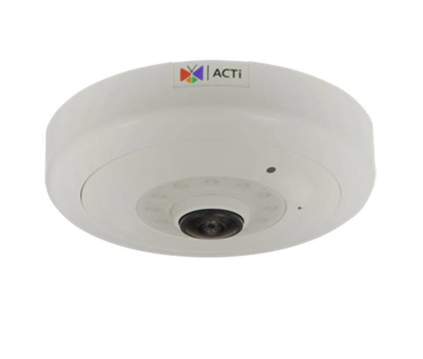 "ACTi Q51 6MP Indoor Network Hemispheric Fisheye Dome Security Camera - 1.3mm Fixed Lens, Extreme WDR (130 dB), 1/1.8"" CMOS, 30fps at 1920x1080"