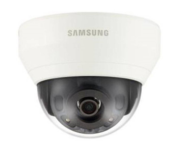 Samsung QND-7030R 4MP H.265 IR Indoor Dome IP Security Camera - 6mm Fixed Lens
