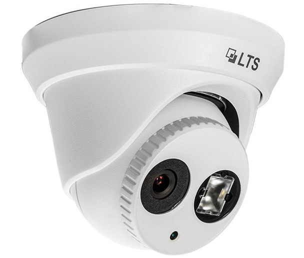 5 Megapixel (3K) InfraRed for Night Vision Outdoor Turret Network (IP) Security Camera, Weatherproof, SD Card Support, 2.8mm Fixed Lens, CMIP3052-28