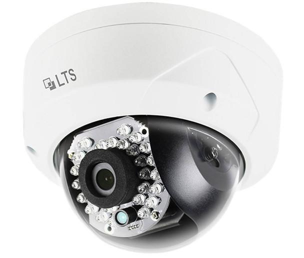 LTS CMIP7452-M 5MP IR Outdoor Mini Dome IP Security Camera - 4mm Fixed Lens
