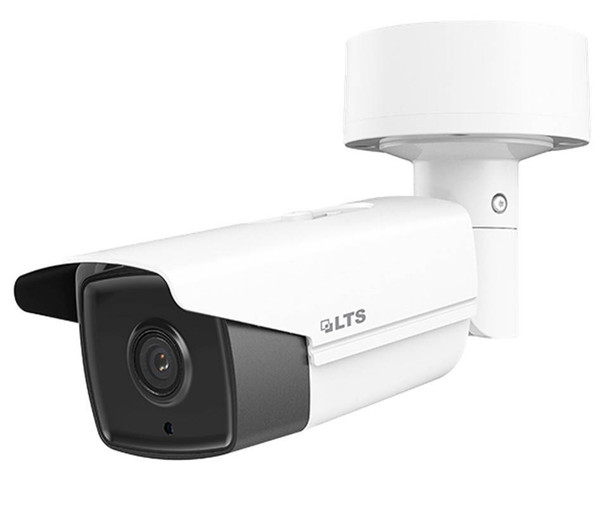 4 Megapixel InfraRed for Night Vision Outdoor Bullet Network (IP) Security Camera, H.264 Plus Compression, Weatherproof, 4mm Fixed Lens, CMIP9142