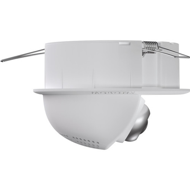Mobotix MX-p25-N016-AUD 6MP Indoor Dome IP Security Camera - Night, 1.6mm Fixed Lens, Audio Package