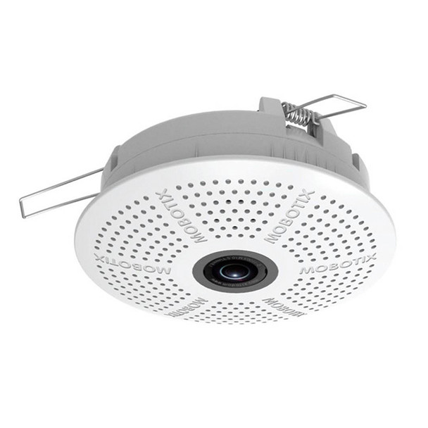 "Mobotix MX-C25-N016-AUD 6MP Hemispheric Indoor Fisheye Dome IP Security Camera - Night, 1.6mm Fixed Lens, 1/1.8"" CMOS, Audio Package"