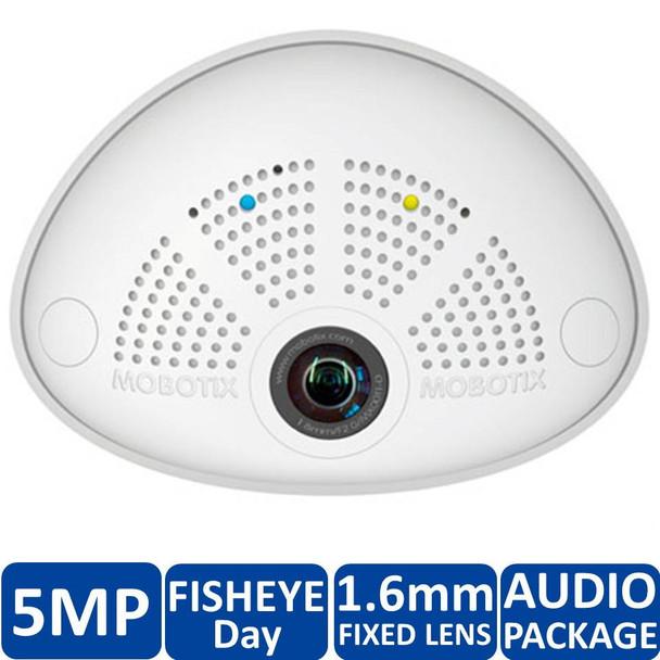 Mobotix MX-i25-D016-AUD 5MP Indoor Hemispheric Fish Eye IP Security Camera