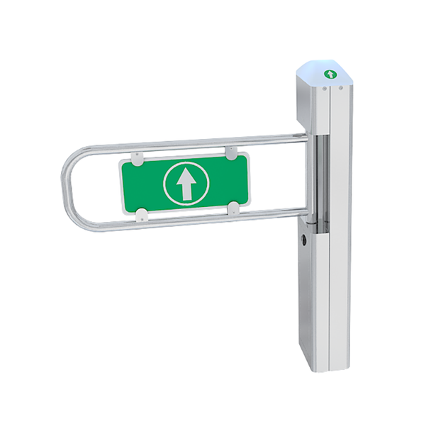 Motorized One-Directional Swing Gate Turnstile