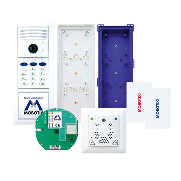 Mobotix MX-T25-SET3 6MP Indoor/Outdoor Complete Kit IP Video Door Station