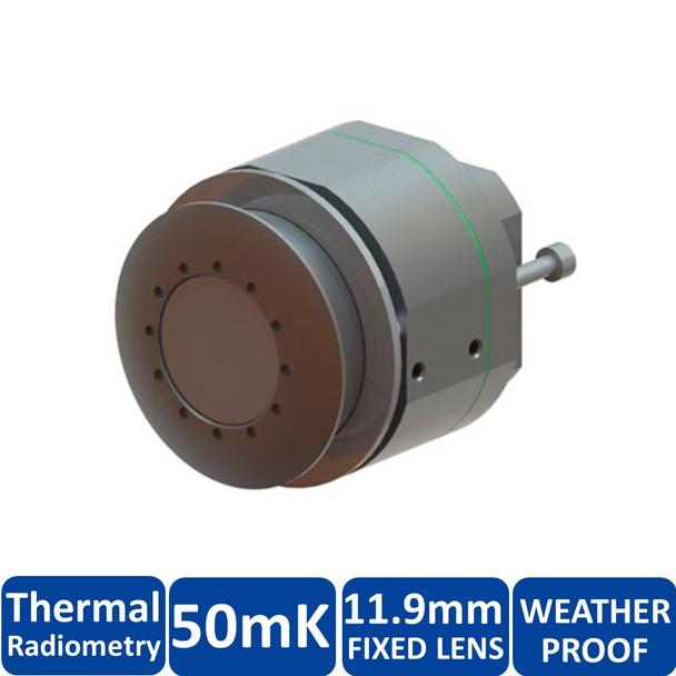 Mobotix MX-SM-TR119 FlexMount S15 Thermal Sensor Module with Thermal Radiometry - 11.9mm Fixed Lens, 50mK, 336 x 252 pixels, Germanium Lens