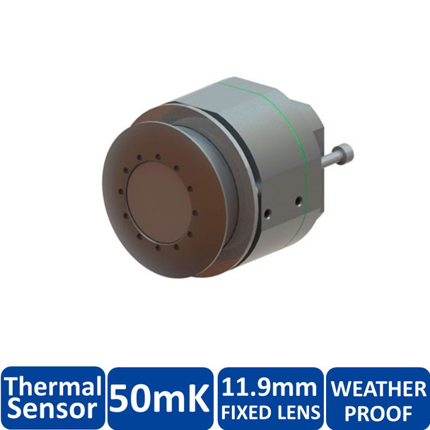 Mobotix MX-SM-Thermal-L65 FlexMount S15D Thermal Sensor Module - 11.9mm Fixed Lens, 50mK, 336 x 252 pixels, Germanium Lens, Weatherproof