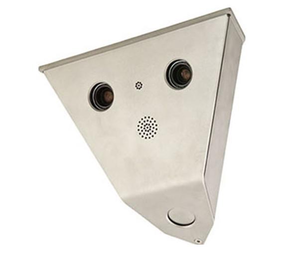 Mobotix MX-V15D-Sec-DNight-D43N43-6MP-F1.8 2x 6MP Vandalism V15 Indoor/Outdoor Network Corner Security Camera - 1x Day 1x Night 7.9mm Fixed Lens
