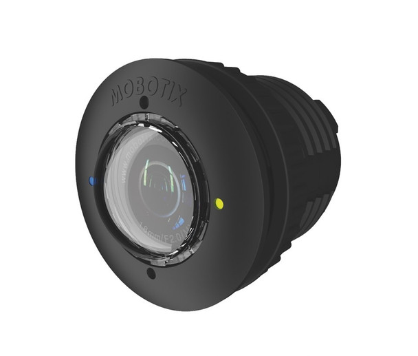 Mobotix MX-SM-N22-LPF-BL-6MP-F1.8 6MP Sensor Module - For S15 and M15, Fixed Lens, L22-F1.8 Night, Weatherproof, Integrated microphone and status LEDs