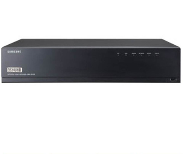 Samsung XRN-1610-2TB 16 Channel 4K Network Video Recorder - H.265, H.264, MJPEG, Max. 8HDD, HDMI / VGA local monitor