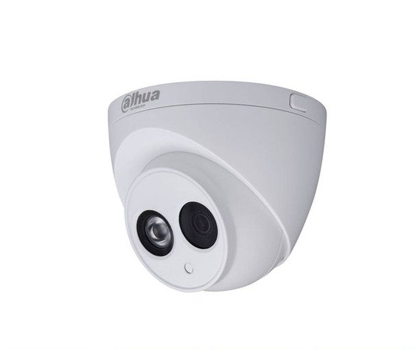Dahua DH-IPC-HDW44A1EN-I 2.8mm Fixed Eyeball IP Security Camera - 4MP @ 30fps, Fixed Lens, 1 IR LEDs