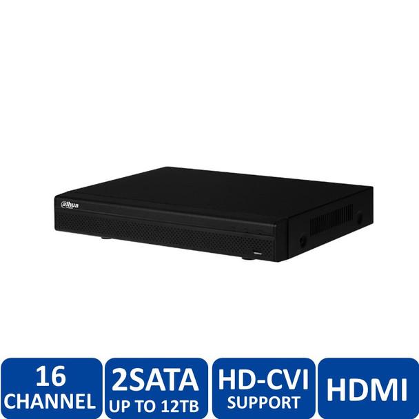 Dahua DHI-HCVR52A16AN-S3-3TB 16 Channel Tribrid HDCVI Dgital Video Recorder - 3TB HDD included