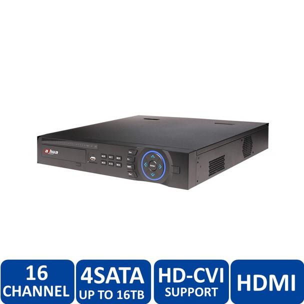 Dahua DHI-HCVR54A16L-V2 16 Channel Tribrid 720P-Pro 16-Channel Tribrid 1.5U HDCVI DVR - HDMI/VGA, 720p/1080p, 4 SATA up to 16TB