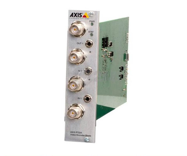 AXIS P7224 Blade 4 Channel Video Encoder Blade 0418-001