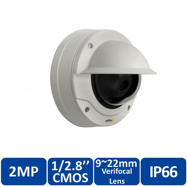 AXIS Q3505-VE MK II 9MM 2MP Outdoor Arctic Dome IP Security Camera - 3~9mm Varifocal Lens, 0874-001