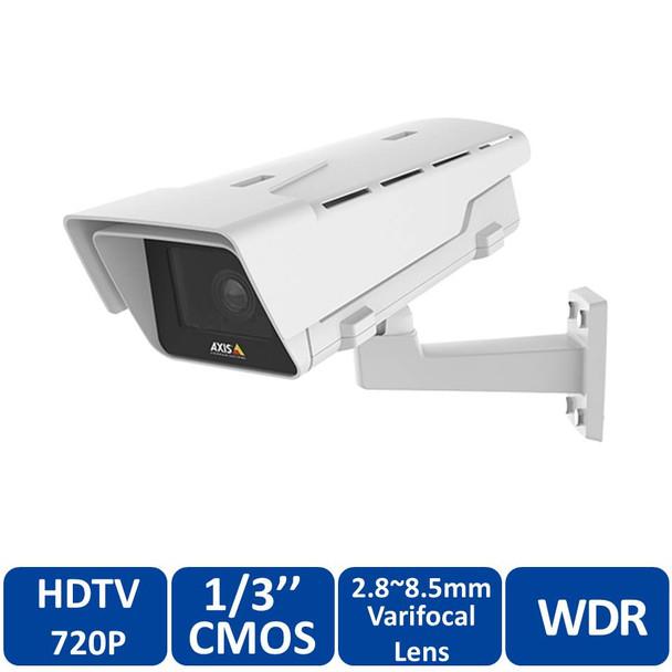 Axis P1364-E 1MP Outdoor IP Security Camera 0739-001 - Arctic Temperature Control