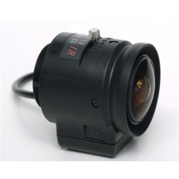 "Panasonic PLM12MP120/1 1/3"" MP M12-Mount 12mm Camera Lens"