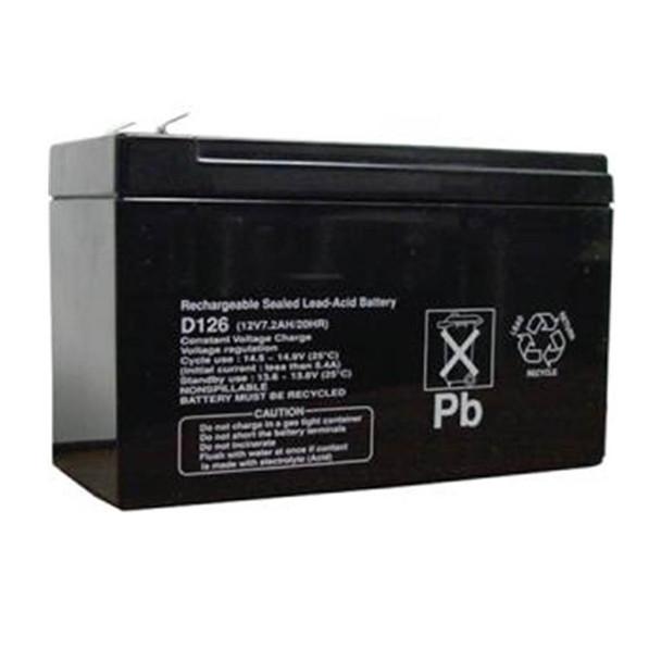 Bosch D126 Standby Battery, 12V, 7 AH