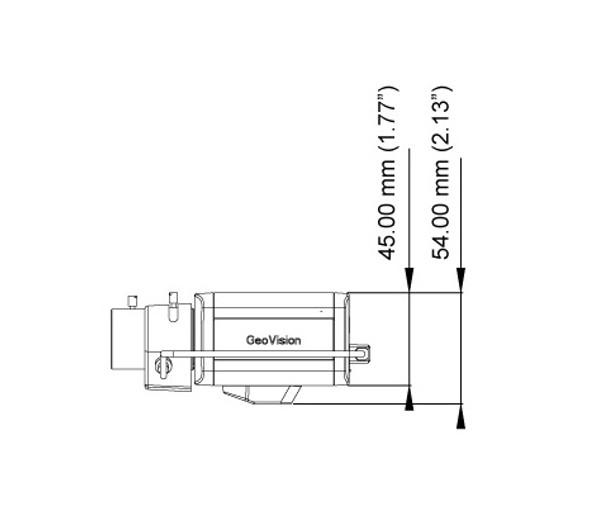 Geovision GV-BX4700-3V 4MP H.265 Indoor Box IP Security Camera - 3~10.5mm Varifocal Lens, Smart Streaming